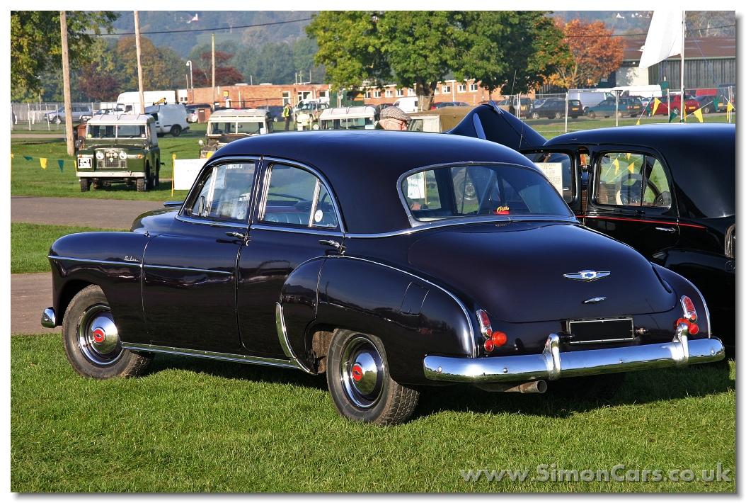 chevrolet deluxe ii 1949   1952 sedan 2 door