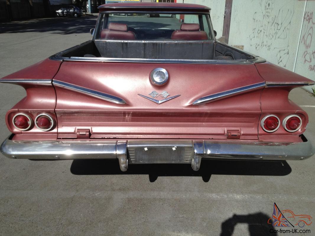 Chevrolet El Camino I 1959 - 1960 Pickup #4
