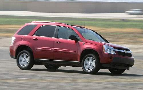 Chevrolet Equinox I 2004 - 2009 SUV 5 door #8