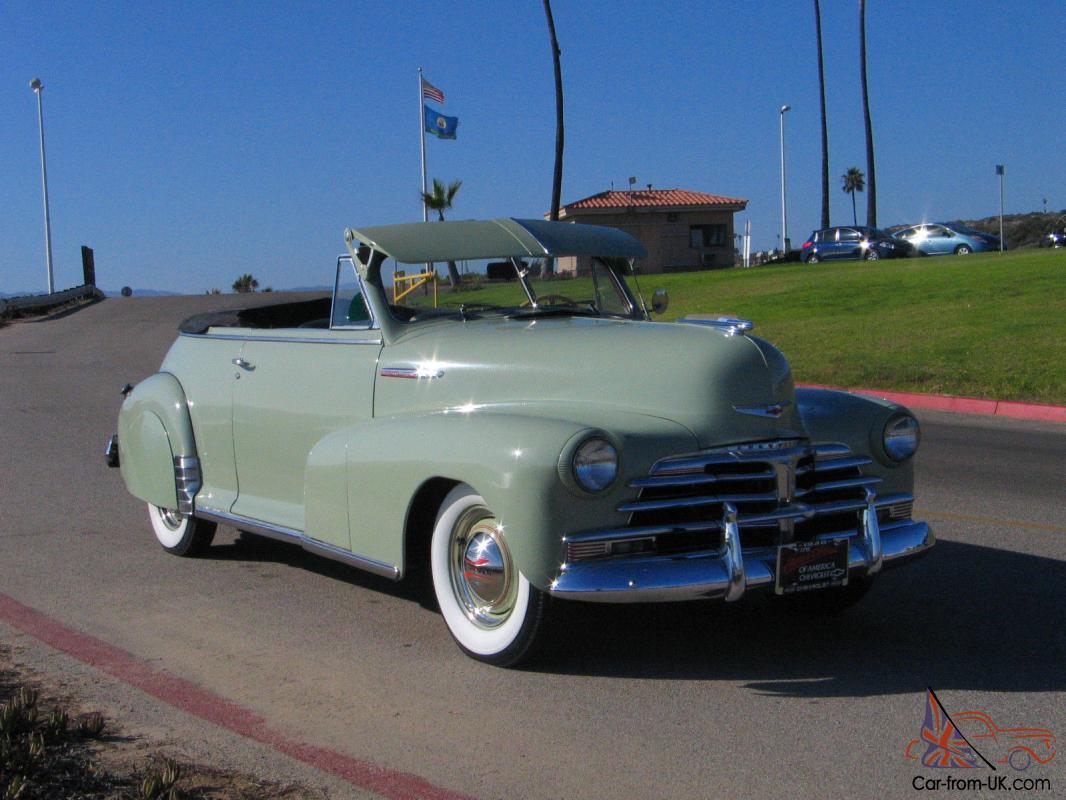 Chevrolet Fleetmaster 1946 - 1948 Cabriolet #5