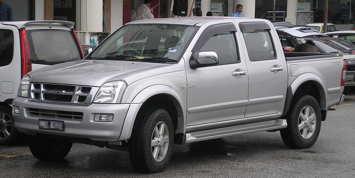 Isuzu D-Max II 2012 - now Pickup #7