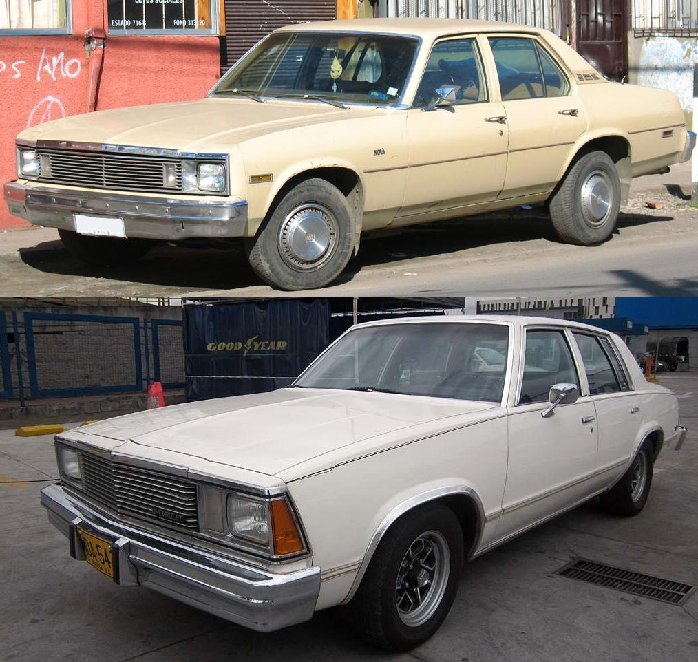 Chevrolet Malibu Iv 1978 1983 Sedan Outstanding Cars
