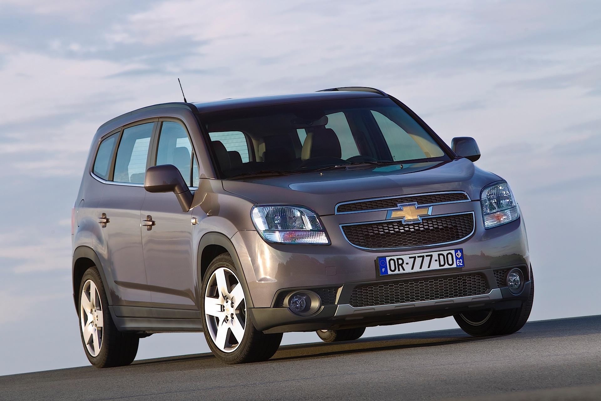 Chevrolet Orlando I 2011 - 2015 Compact MPV #3