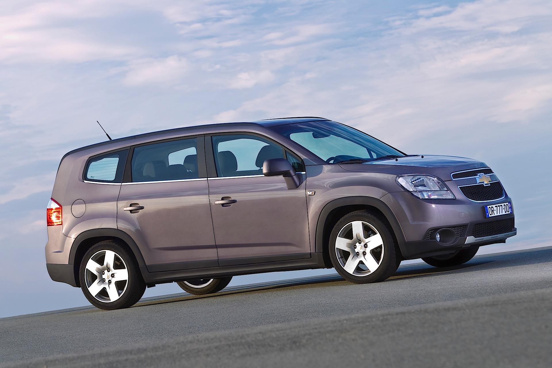 Chevrolet Orlando I 2011 - 2015 Compact MPV #4