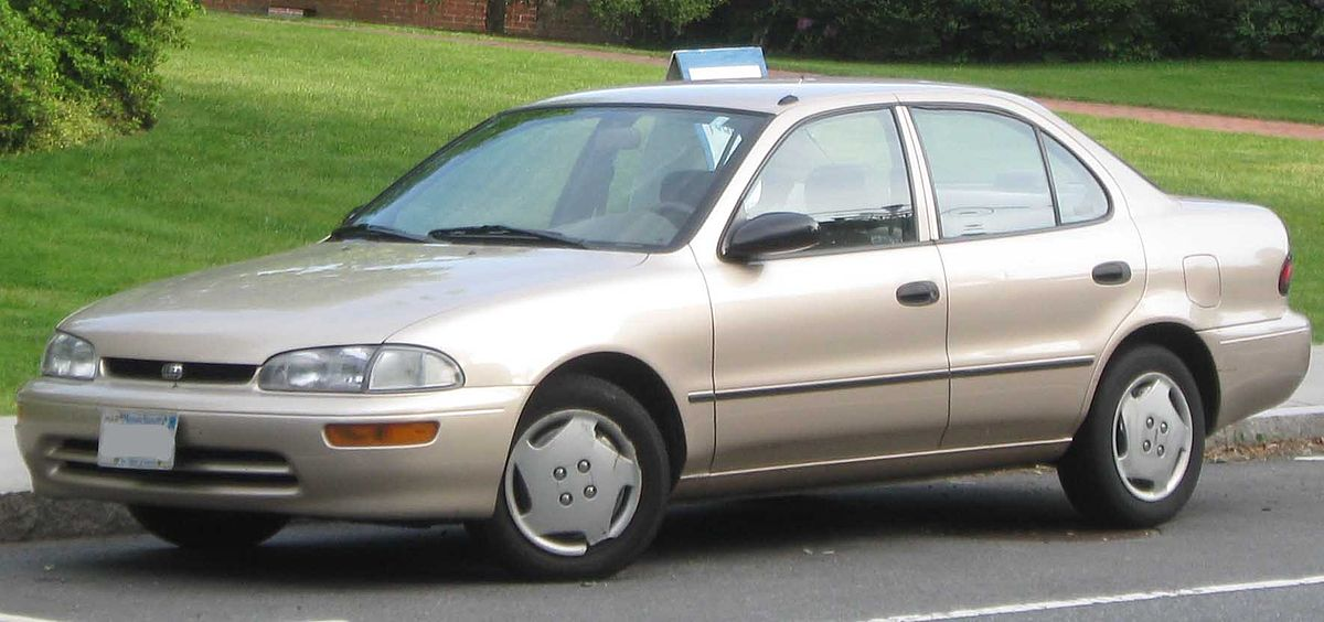 Chevrolet Prizm 1997 - 2002 Sedan #7