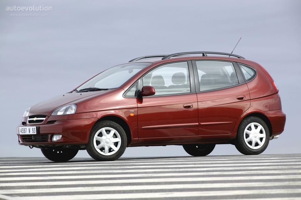 Chevrolet Rezzo 2000 - 2008 Compact MPV #5