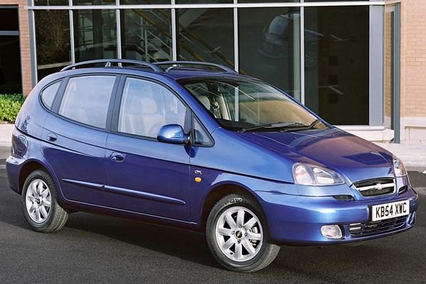 Chevrolet Rezzo 2000 - 2008 Compact MPV #1