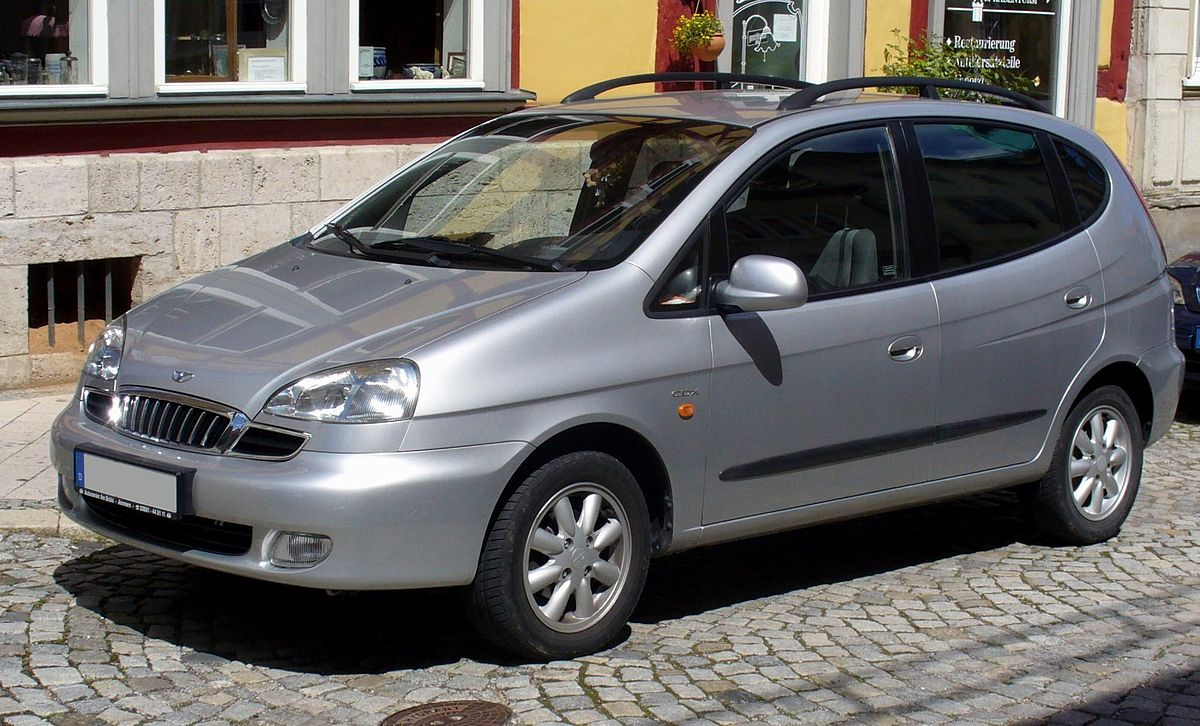 Chevrolet Rezzo 2000 - 2008 Compact MPV #8