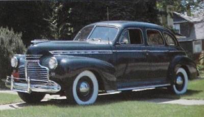 Chevrolet Special DeLuxe 1941 - 1948 Sedan #5