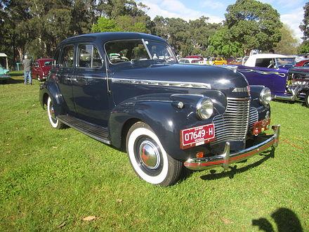 Chevrolet Special DeLuxe 1941 - 1948 Sedan #8