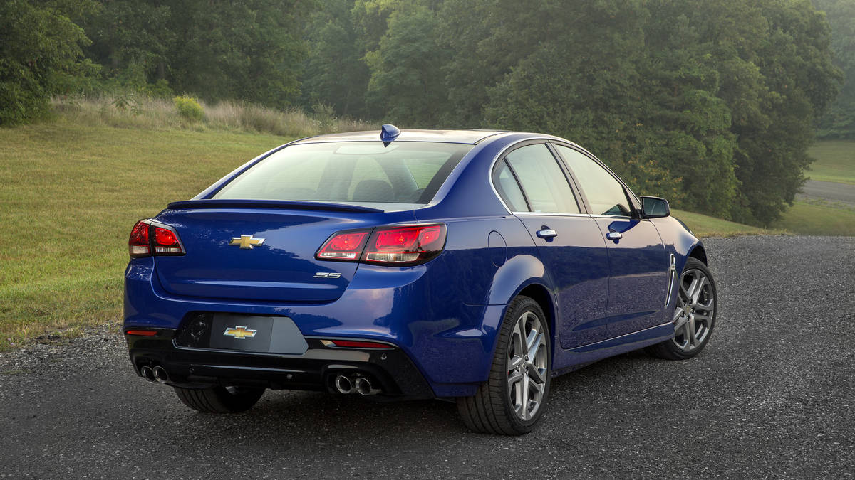Chevrolet SS I Restyling 2015 - now Sedan #3