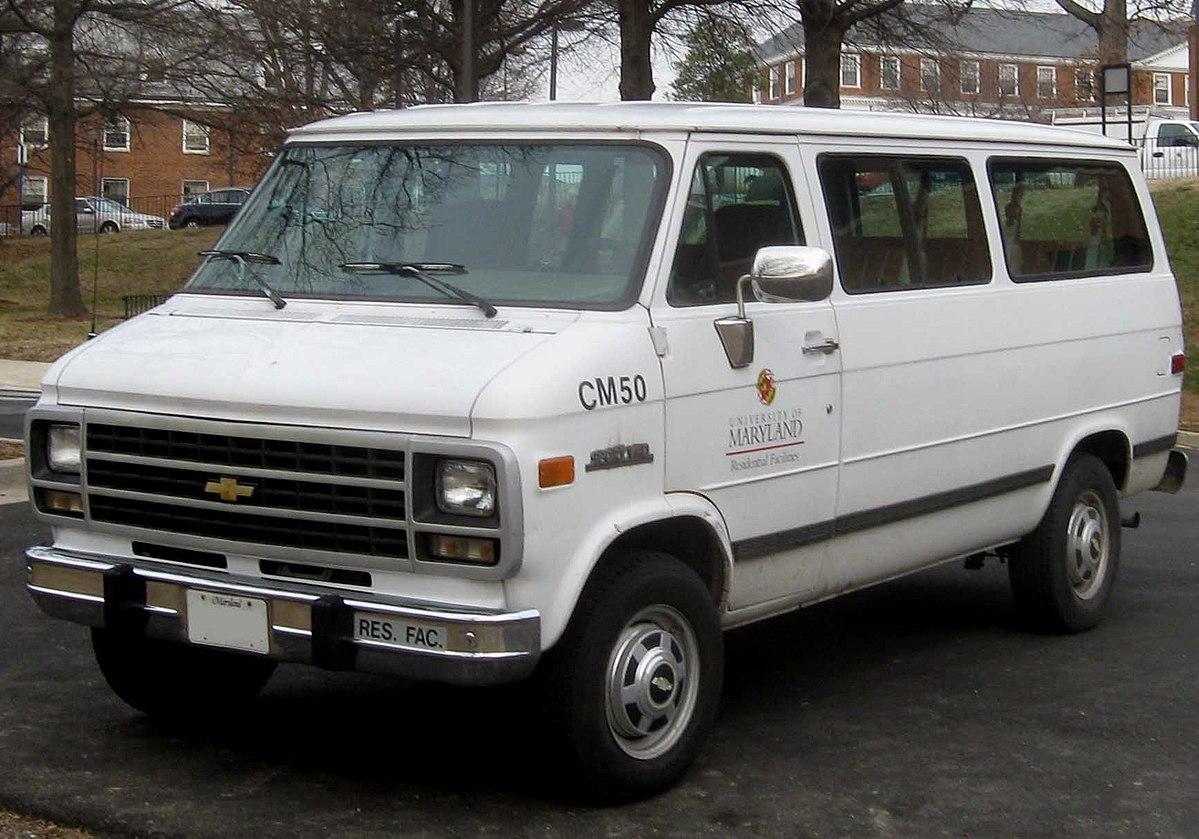 Chevrolet Van 1980 - 1996 Minivan #8