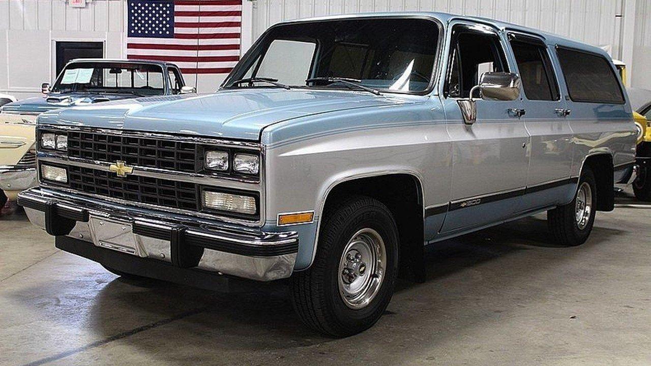Chevrolet Suburban VIII 1973 - 1991 SUV 5 door ...