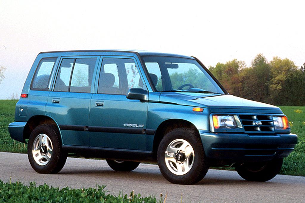 Chevrolet Tracker I 1989 - 1998 SUV 5 door #5