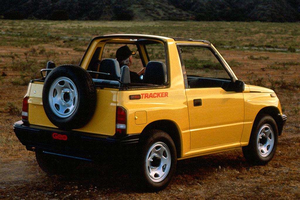 Chevrolet Tracker I 1989 - 1998 SUV 5 door #4