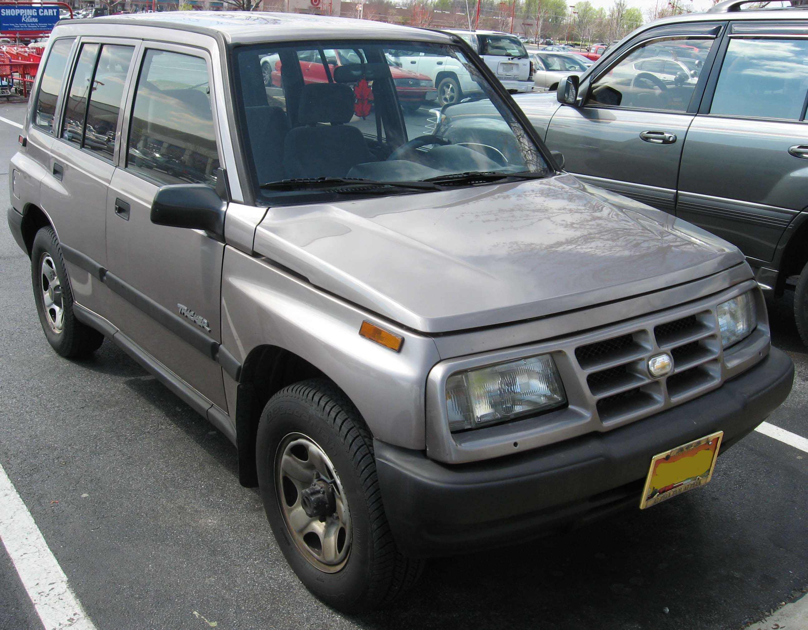 Chevrolet Tracker I 1989 - 1998 SUV 5 door #3