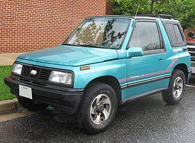 Chevrolet Tracker I 1989 - 1998 SUV 5 door #6