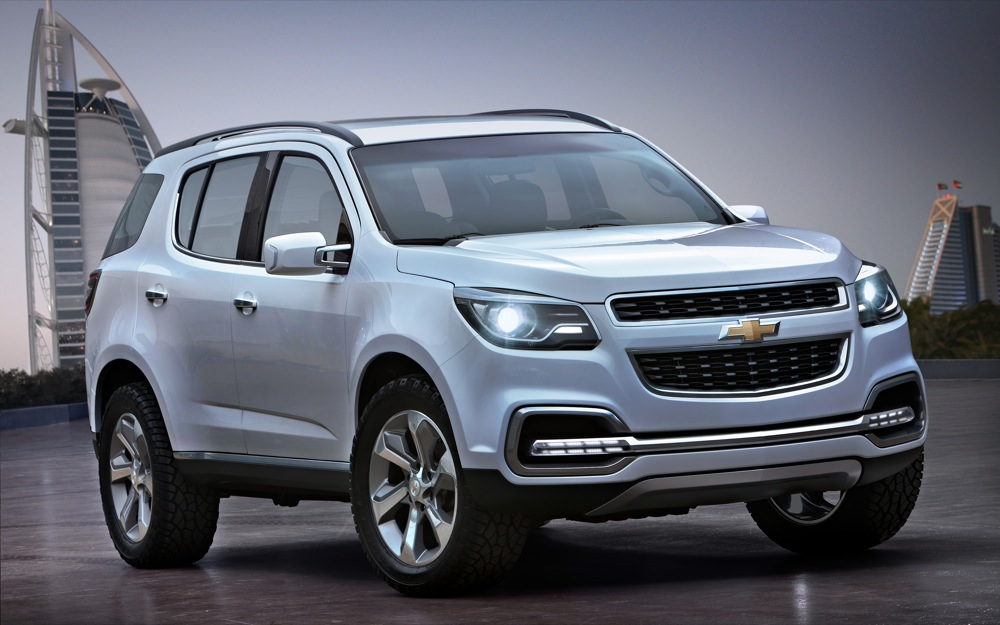 Chevrolet TrailBlazer II 2012 - 2016 SUV 5 door #1