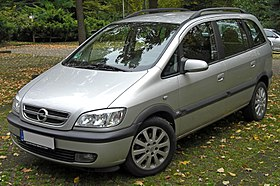 Chevrolet Zafira 2001 - 2012 Compact MPV #7