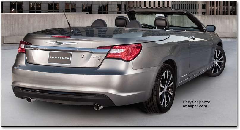 Chrysler 200 I 2011 - 2014 Cabriolet #6