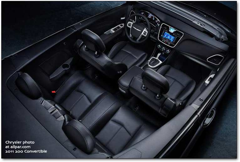 Chrysler 200 I 2011 - 2014 Cabriolet #8