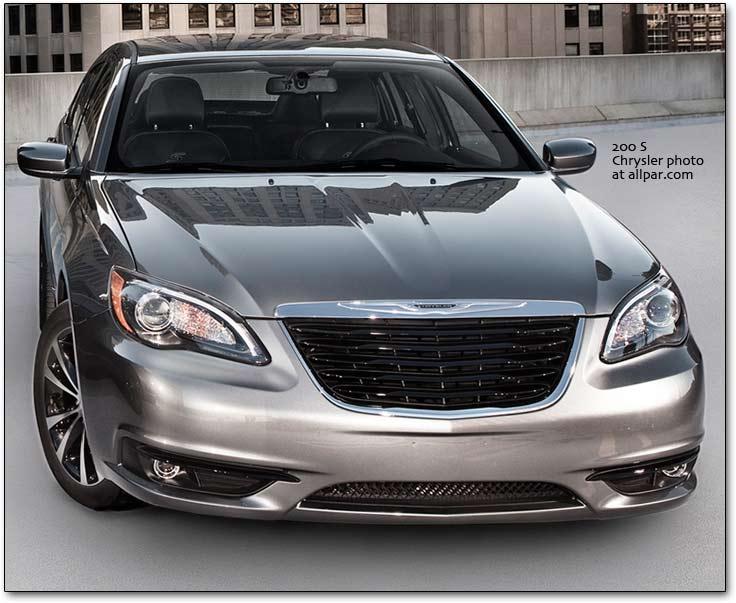Chrysler 200 I 2011 - 2014 Sedan #5