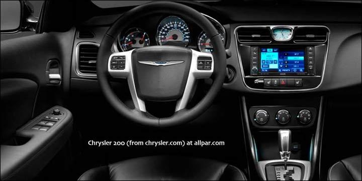 Chrysler 200 I 2011 - 2014 Sedan #8