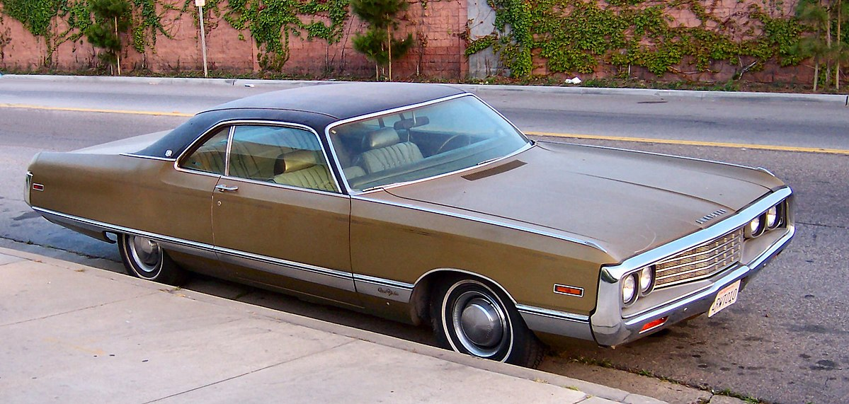 Chrysler Newport V 1968 - 1973 Coupe-Hardtop #8