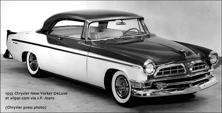 Chrysler 300 Letter Series I (C-300) 1955 - 1955 Coupe-Hardtop #3