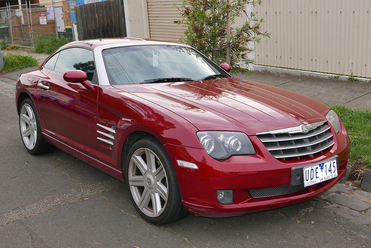 Chrysler Crossfire 2003 - 2007 Coupe #8