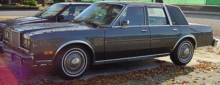 Chrysler Fifth Avenue I 1982 - 1989 Sedan #1