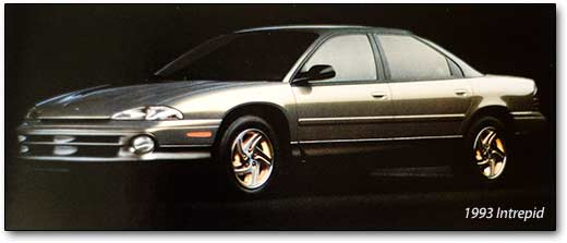 Chrysler Intrepid I 1993 - 1997 Sedan #7