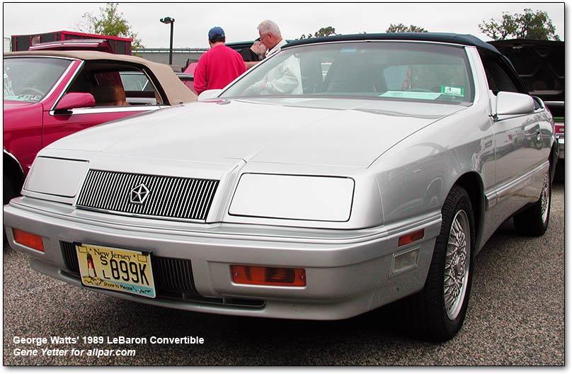 Chrysler LeBaron II 1981 - 1989 Coupe #6