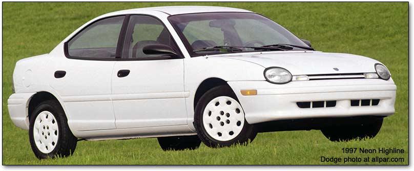 Chrysler Neon I 1994 - 1999 Sedan #8