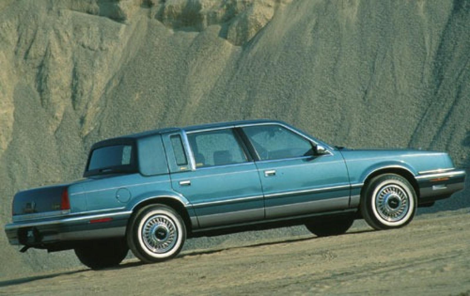 chrysler new yorker xiii 1989 1993 sedan outstanding cars. Black Bedroom Furniture Sets. Home Design Ideas