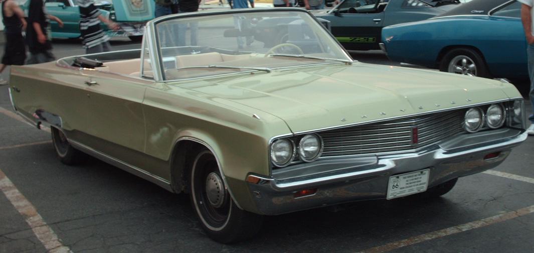 Chrysler Newport V 1968 - 1973 Cabriolet #4