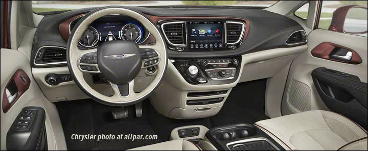 Chrysler Pacifica RU 2016 - now Minivan :: OUTSTANDING CARS
