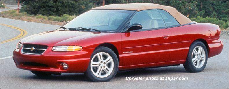 Chrysler Sebring I 1995 - 2000 Cabriolet #3