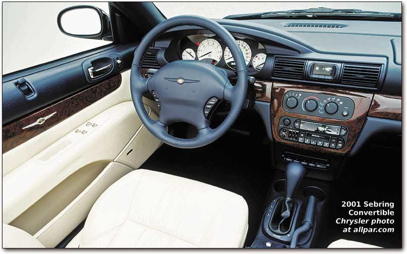 Chrysler Sebring I 1995 - 2000 Cabriolet #7