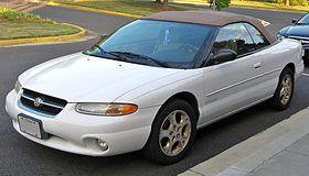 Chrysler Sebring I 1995 - 2000 Cabriolet #8