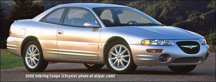 chrysler sebring i 1995 2000 coupe outstanding cars rh carsot com Chrysler Sebring Coupe Model 2004 Sebring Coupe
