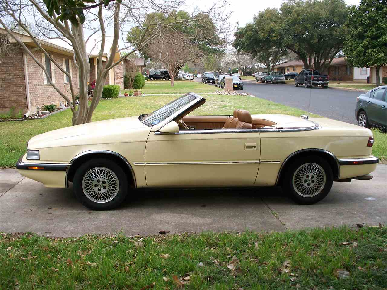 Chrysler TC by Maserati 1989 - 1991 Cabriolet #8