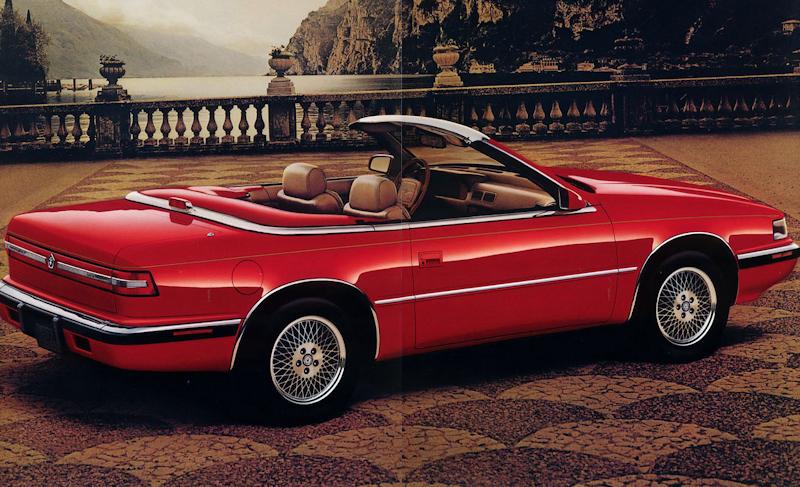 Chrysler TC by Maserati 1989 - 1991 Cabriolet #8
