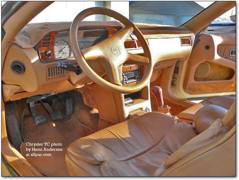 Chrysler TC by Maserati 1989 - 1991 Cabriolet #4