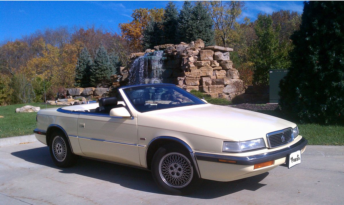 Chrysler TC by Maserati 1989 - 1991 Cabriolet #2