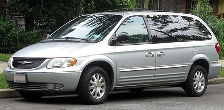 Chrysler Town & Country IV Restyling 2004 - 2007 Minivan #4