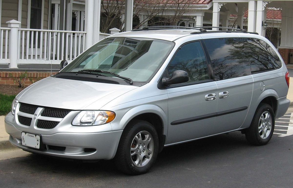 Chrysler Town & Country IV Restyling 2004 - 2007 Minivan #3