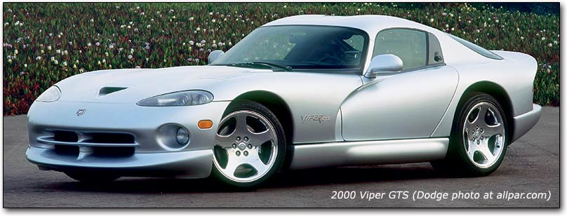 Chrysler Viper 1992 - 2002 Coupe #8