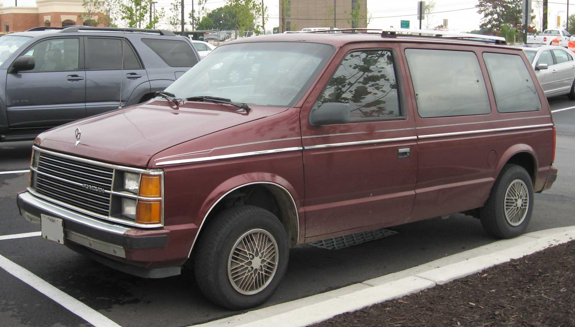 Chrysler Voyager I 1984 - 1990 Minivan #2