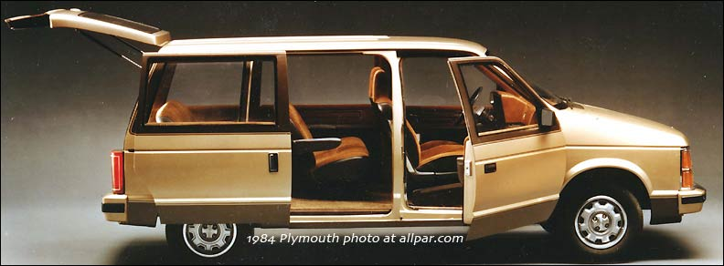 Chrysler Voyager I 1984 - 1990 Minivan #7